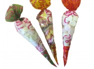 Candy Sweet Bags - Conical PP Bag, Printed Cone Shaped Bags