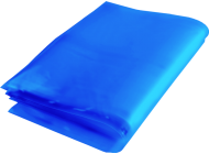 Blue Tinted Polythene Packing Bags