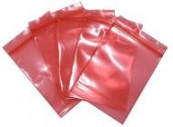 Zip Lock Pink Antistatic Bags